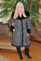 Steal My Heart Hooded Toscana Sheepskin Coat