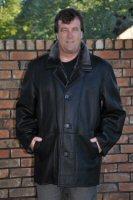 Bakersfield Black Napa Spanish Merino Shearling Coat