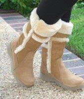Pajar Koala Chestnut Sheepskin/Shearling Boots