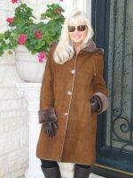 Cup of Hot Coco Spanish Merino Shearling Coat